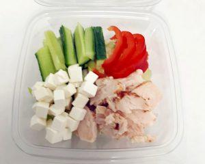 Broiler-juustosalaatti