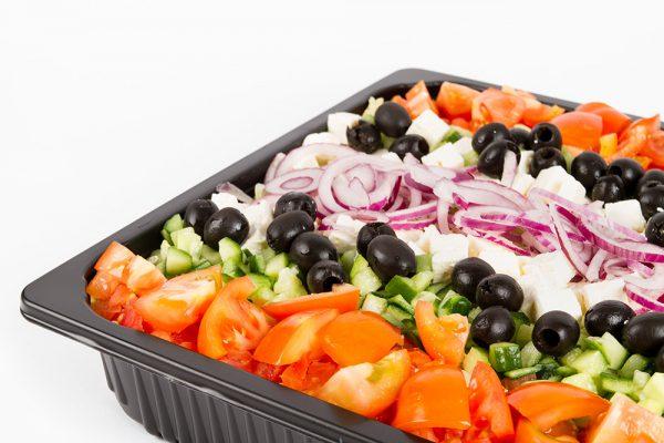 Tukkutalo retki kreikkalainen salaatti